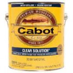 Cabot's Clear Solution, Heartwood 3004